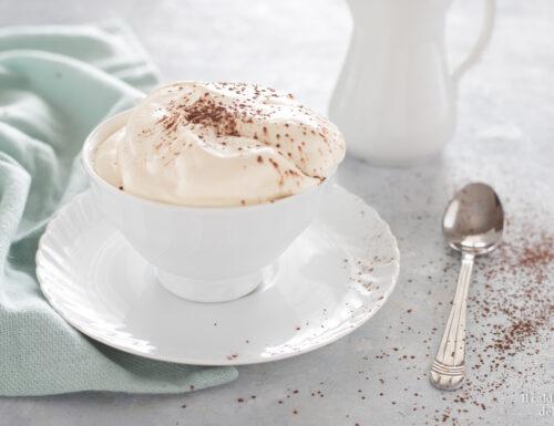 Crema mascarpone panna e latte condensato