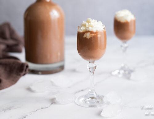 Liquore cremoso nutella e panna