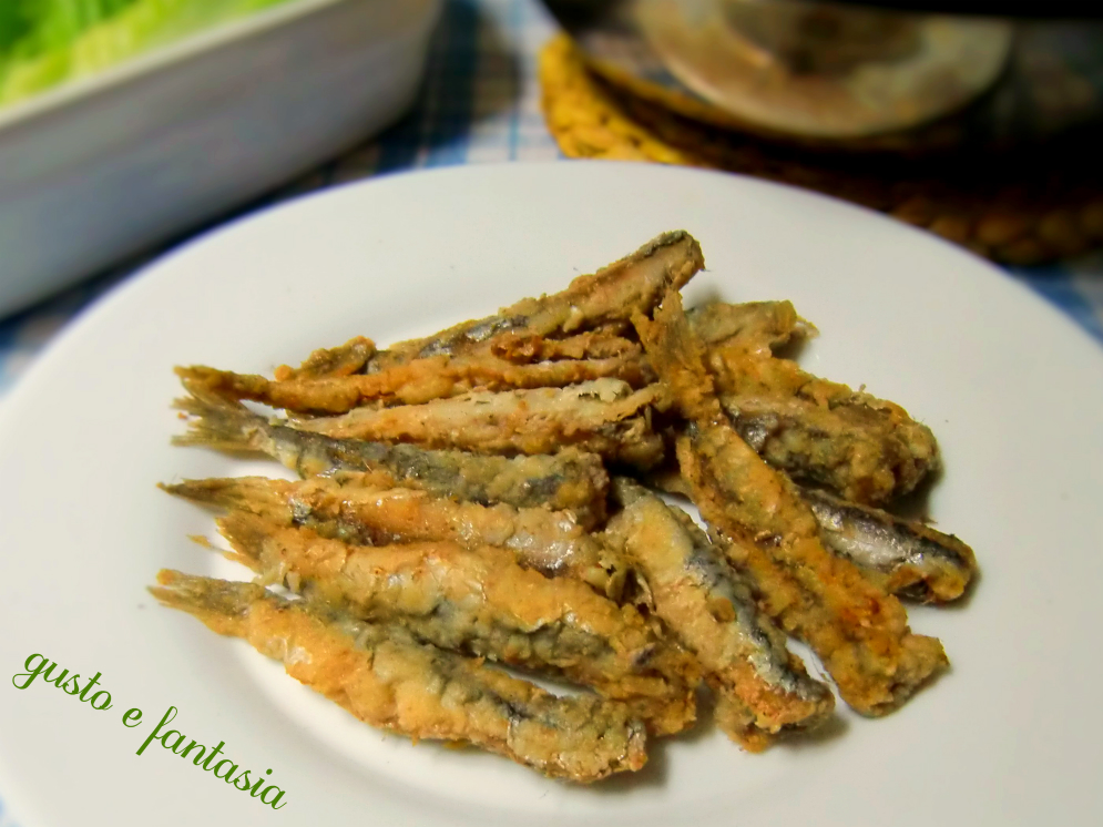 alici fritte ricetta semplice ed economica