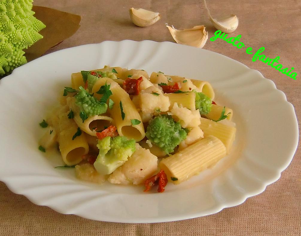 pasta con broccolo e baccalà (ricetta semplice e veloce)
