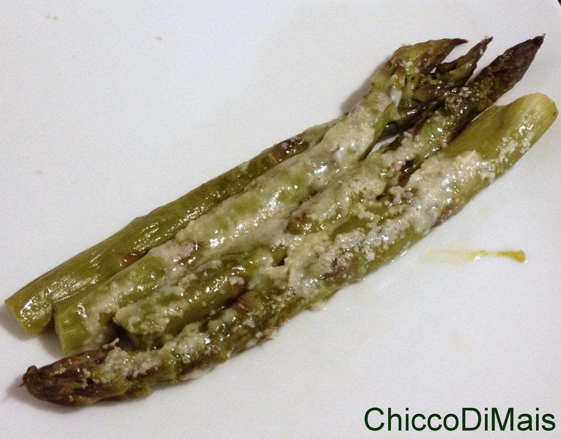 Ricette con asparagi facili e veloci Asparagi al gratin il chicco di mais