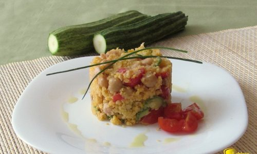 Couscous con tonno e zucchine (ricetta veloce)