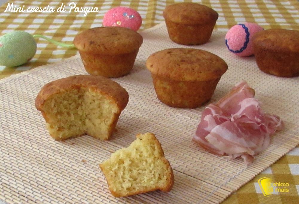 ricette per pasquetta Mini crescia di Pasqua ricetta marchigiana il chicco di mais