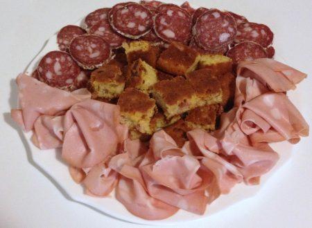 Torta rustica con pomodori secchi e pancetta