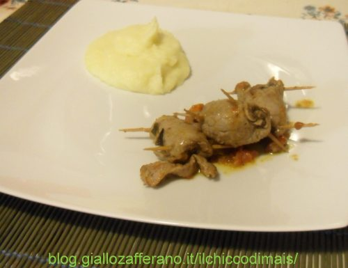 Involtini con pomodori secchi e patè di olive (ricetta saporita)
