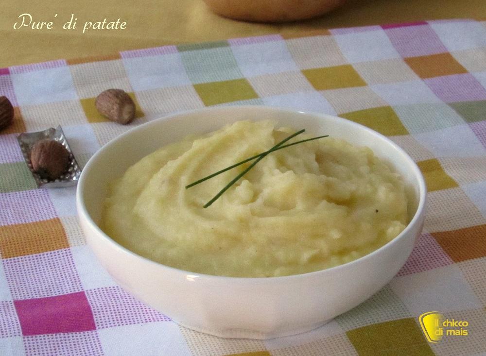 purè di patate ricetta classica il chicco di mais