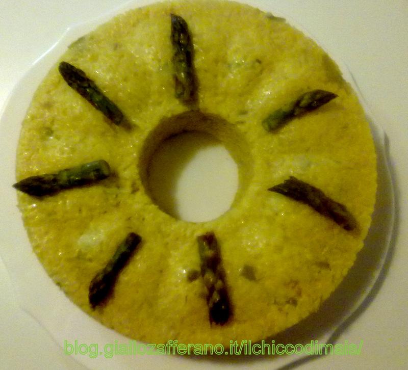 Ricette con asparagi facili e veloci sformato di riso il chicco di mais
