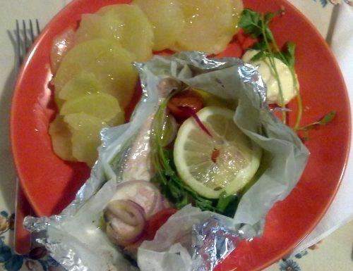 Salmone al cartoccio (ricetta light)