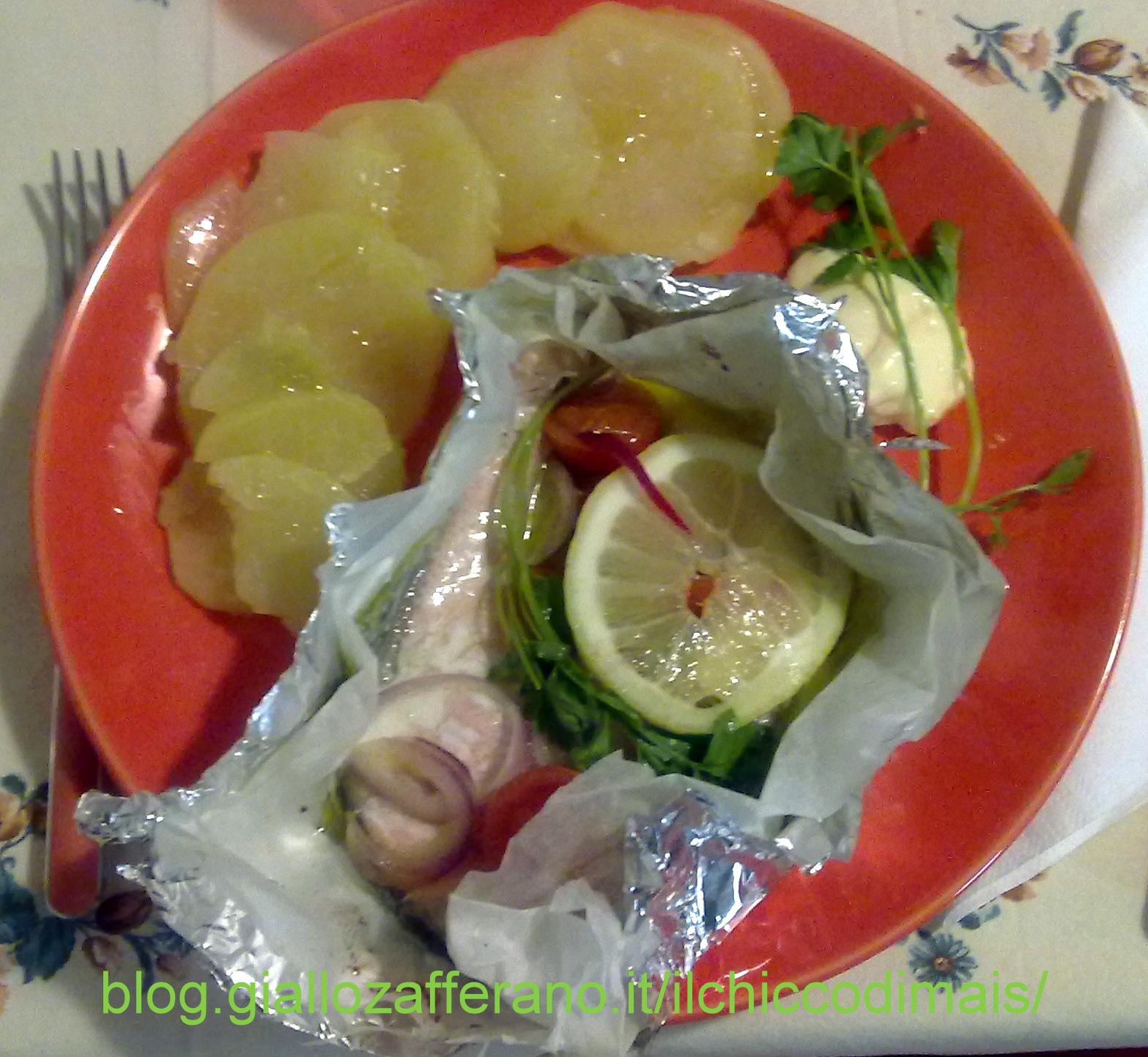 salmone al cartoccio ricetta light il chicco di mais