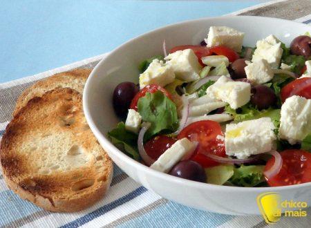 Insalata greca (ricetta light)