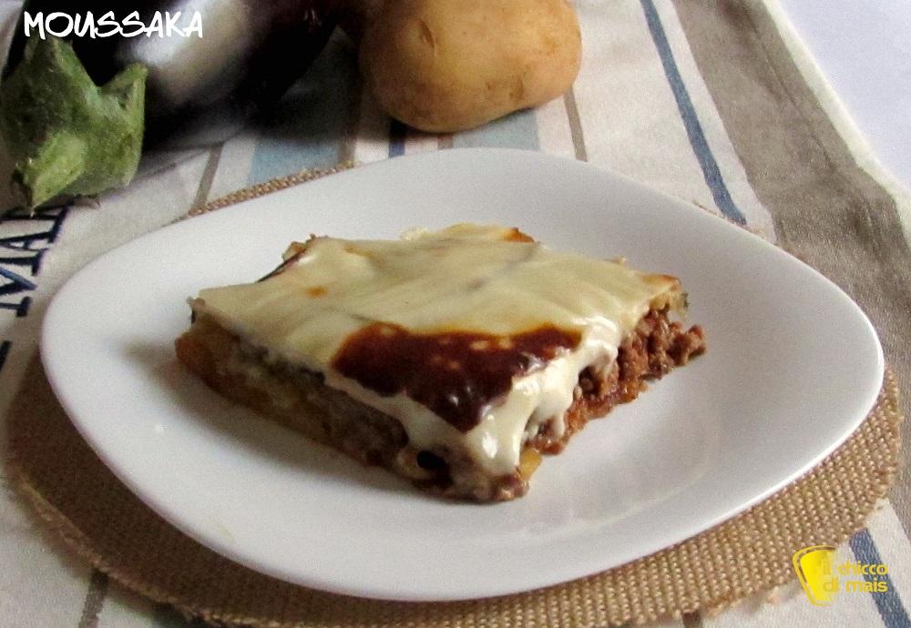 ricette con melanzane facili e veloci Moussaka ricetta greca il chicco di mais