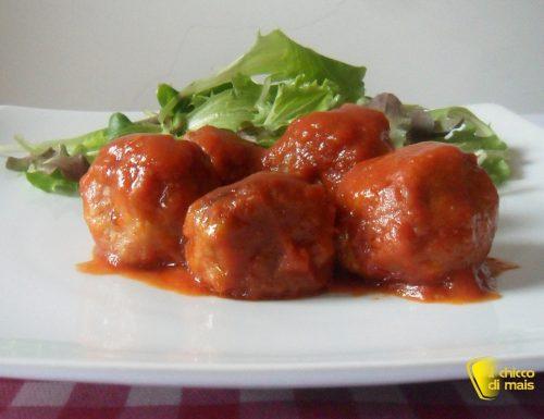 Polpette in umido (ricetta casalinga)