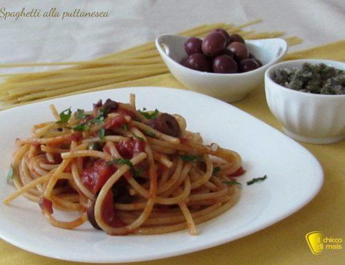 Spaghetti alla puttanesca (ricetta campana)