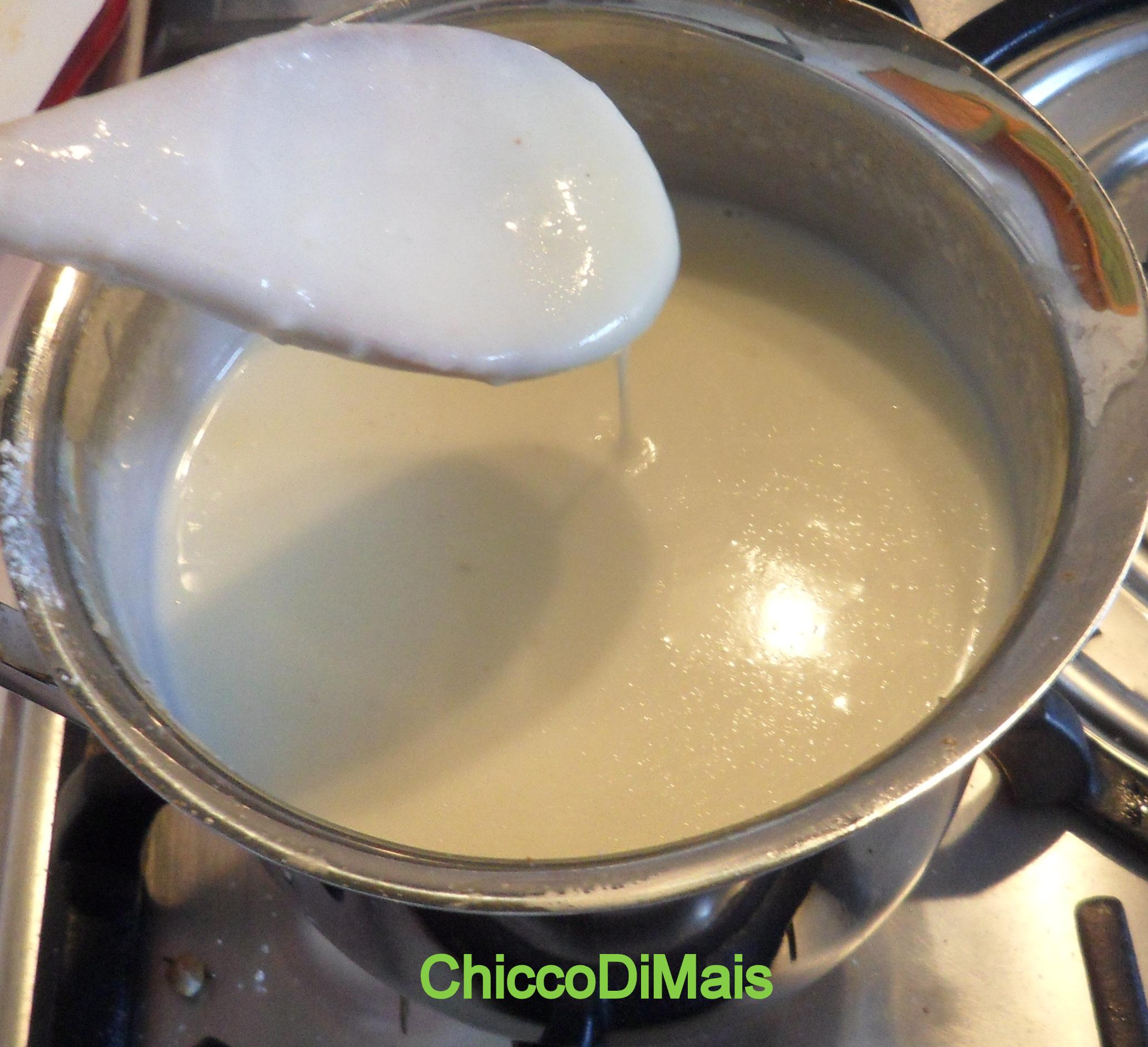 besciamella senza glutine ricetta base il chicco di mais