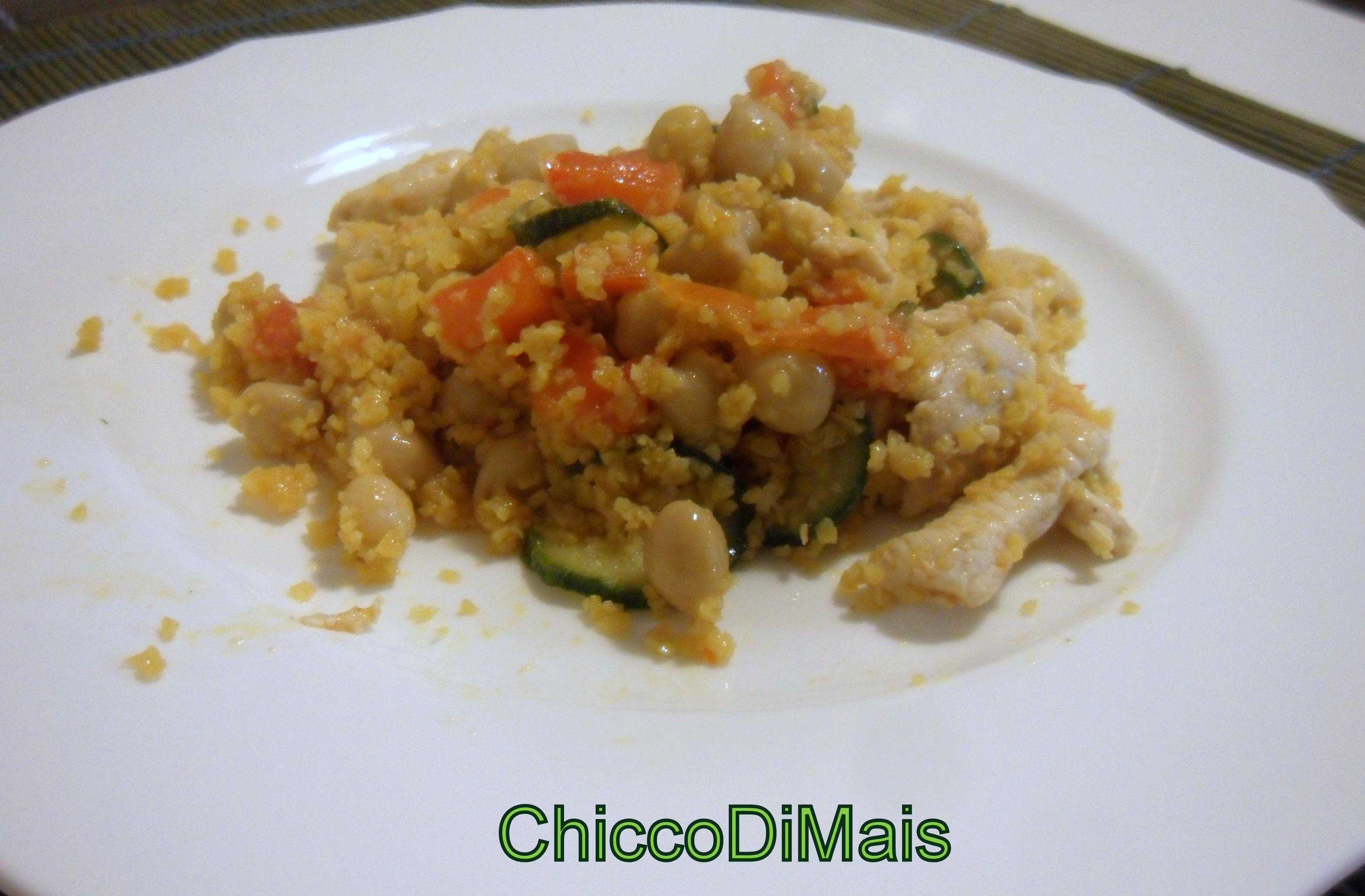 Ricette con zucchine facili e veloci il chicco di mais couscous pollo e verdure