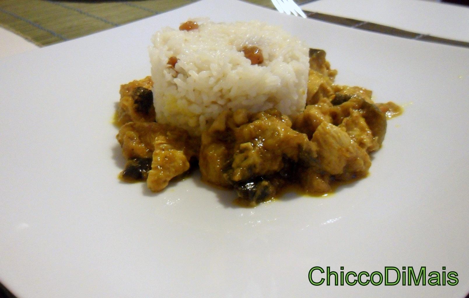 Ricette con melanzane facili e veloci il chicco di mais pollo al curry con melanzane