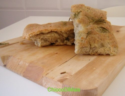 Focaccia di grano saraceno (ricetta senza glutine)