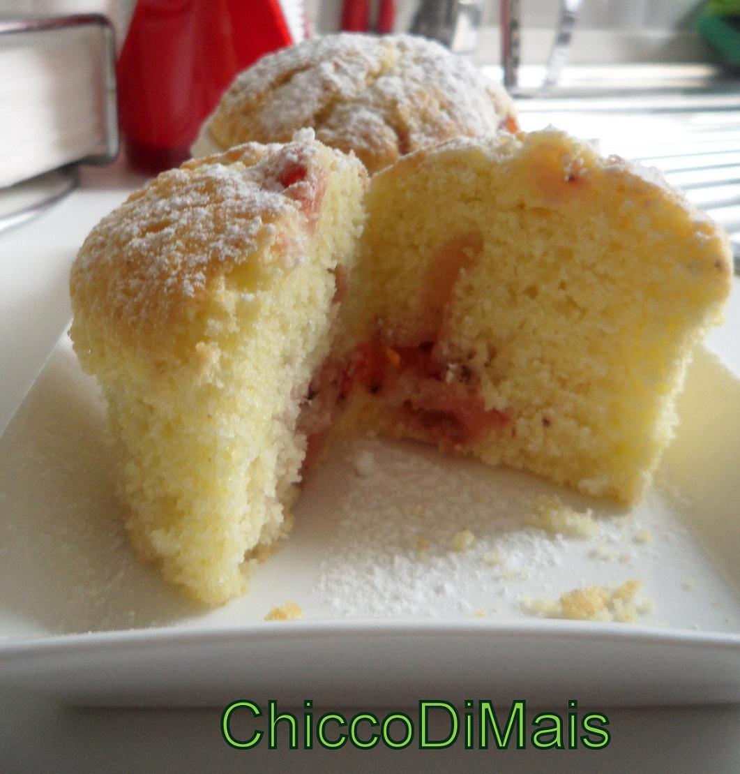 Ricette con fragole dolci e salate facili e veloci il chicco di mais muffin con fragole