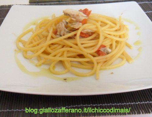Pasta con le alici (ricetta veloce)
