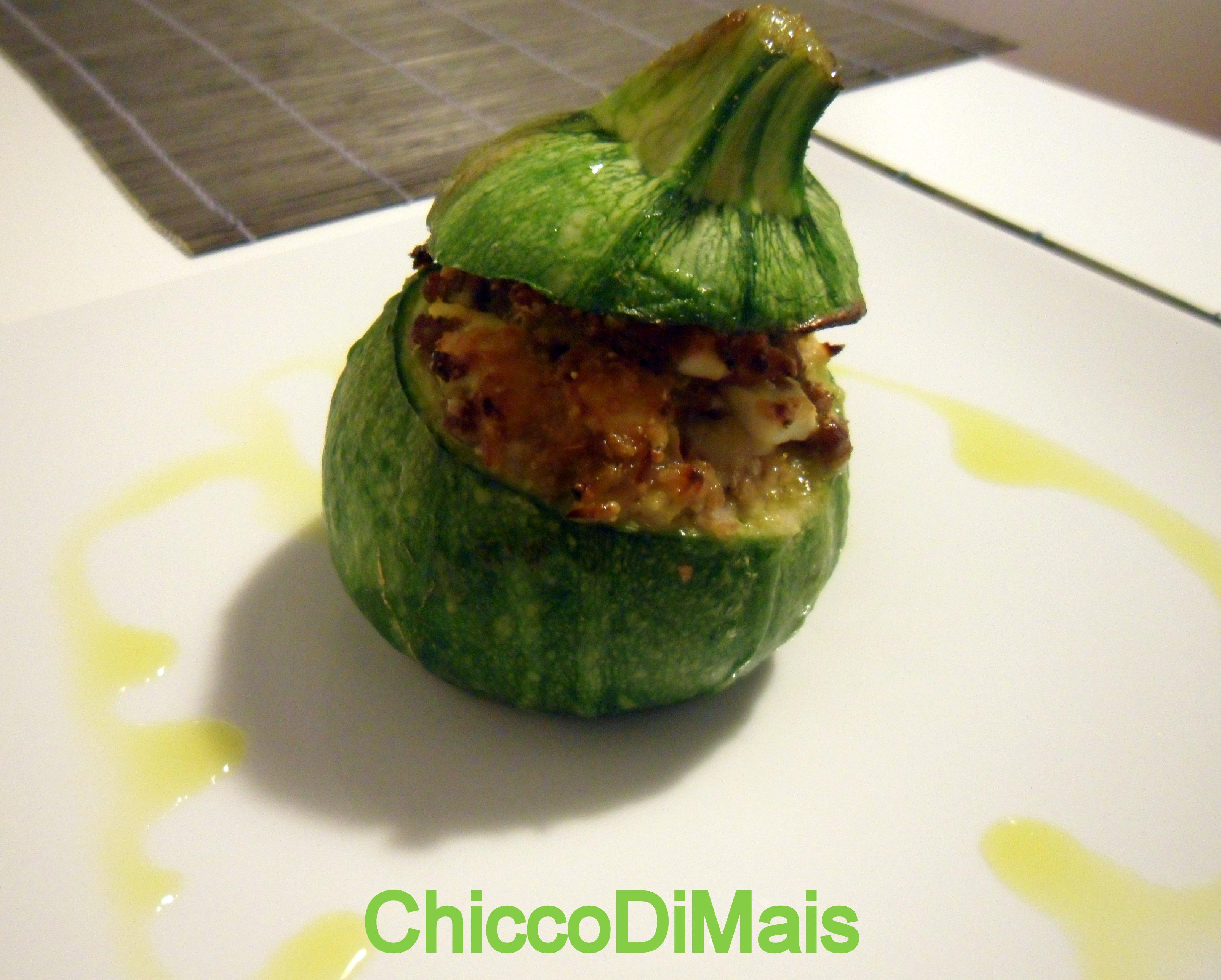Ricette con zucchine facili e veloci il chicco di mais zucchine tonde ripiene