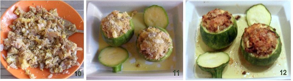 Zucchine tonde ripiene ricetta al forno for Cucinare zucchine tonde
