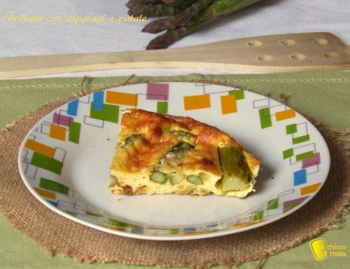 Frittata con asparagi e patate (ricetta al forno)