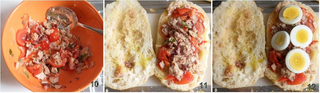 Pan bagnat di Nizza ricetta panino francese 4