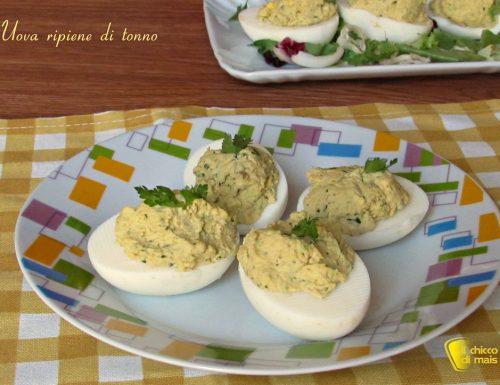 Uova ripiene di tonno (ricetta piatto freddo)