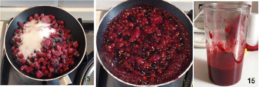 Cheesecake ai frutti di bosco ricetta light e a freddo il chicco di mais 5