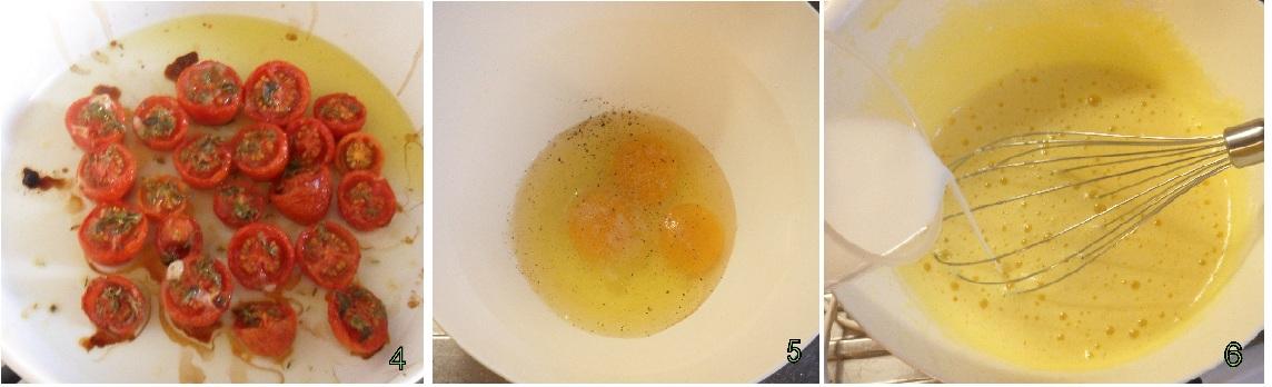 clafoutis di pomodorini confit ricetta francese il chicco di mais 2