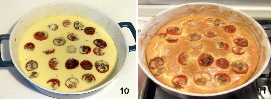 clafoutis di pomodorini confit ricetta francese il chicco di mais 4