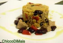 Couscous con vitello e peperoni (ricetta piatto unico)