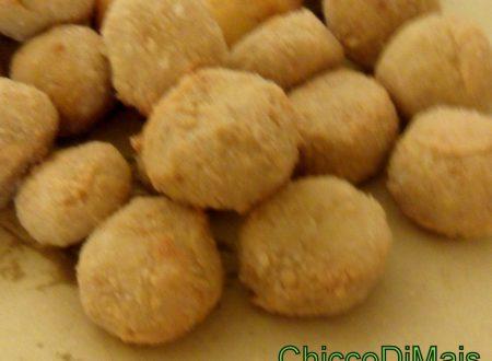 Crocchette di ceci e pistacchi