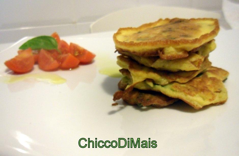 Ricette con zucchine facili e veloci il chicco di mais pancakes di zucchine
