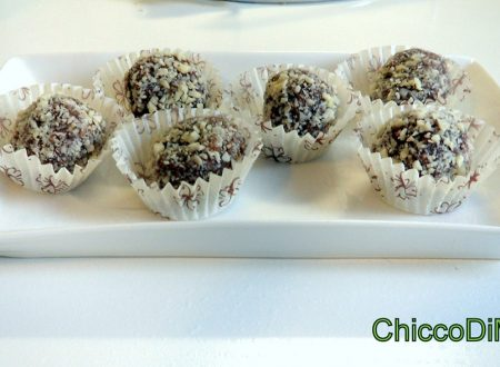 Palline di nutella philadelphia e mandorle (ricetta senza cottura)