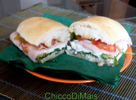 Panino tricolore (ricetta light)