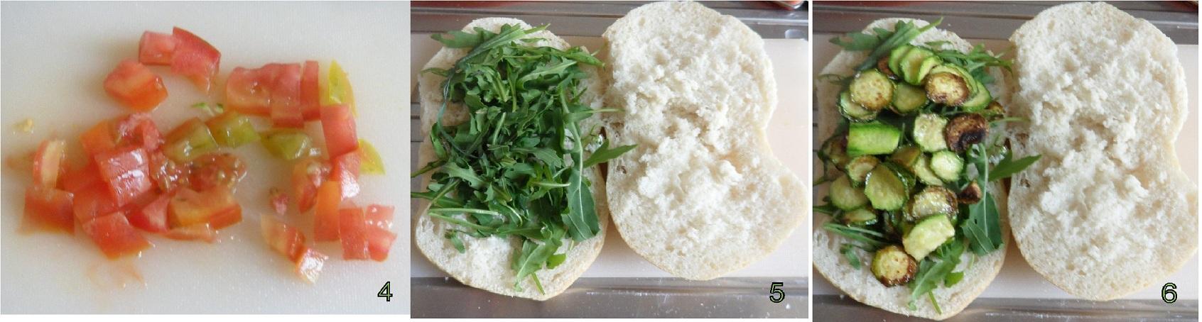 panino tricolore ricetta light il chicco di mais 2