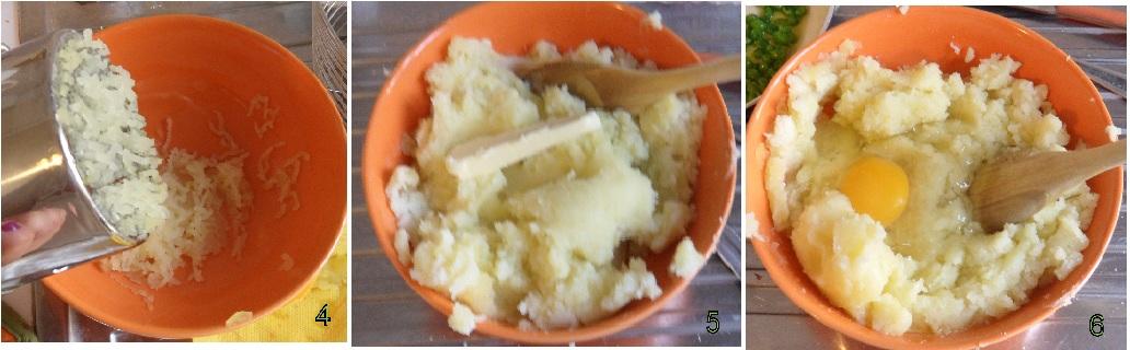 tortino patate salsiccia ricetta il chicco di mais 2