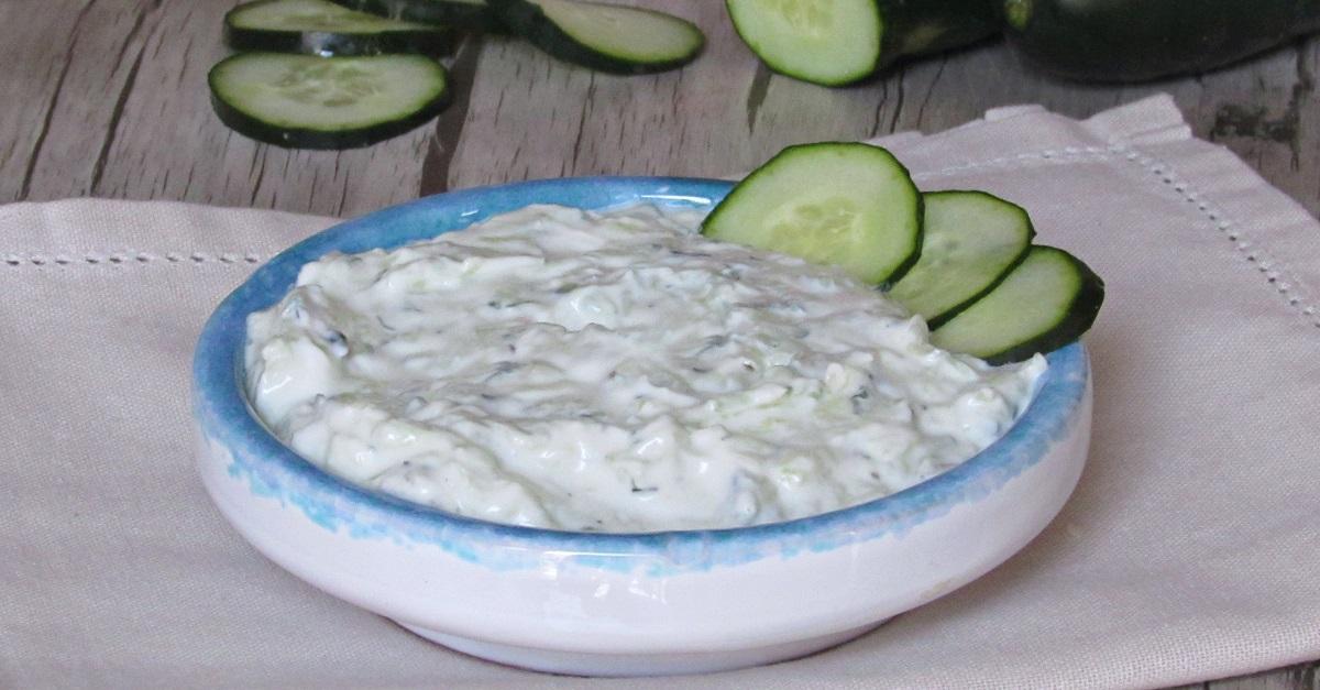 Tzatziki, salsa greca allo yogurt