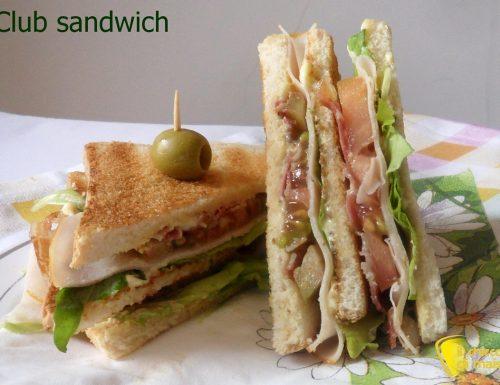 Club sandwich (ricetta americana)