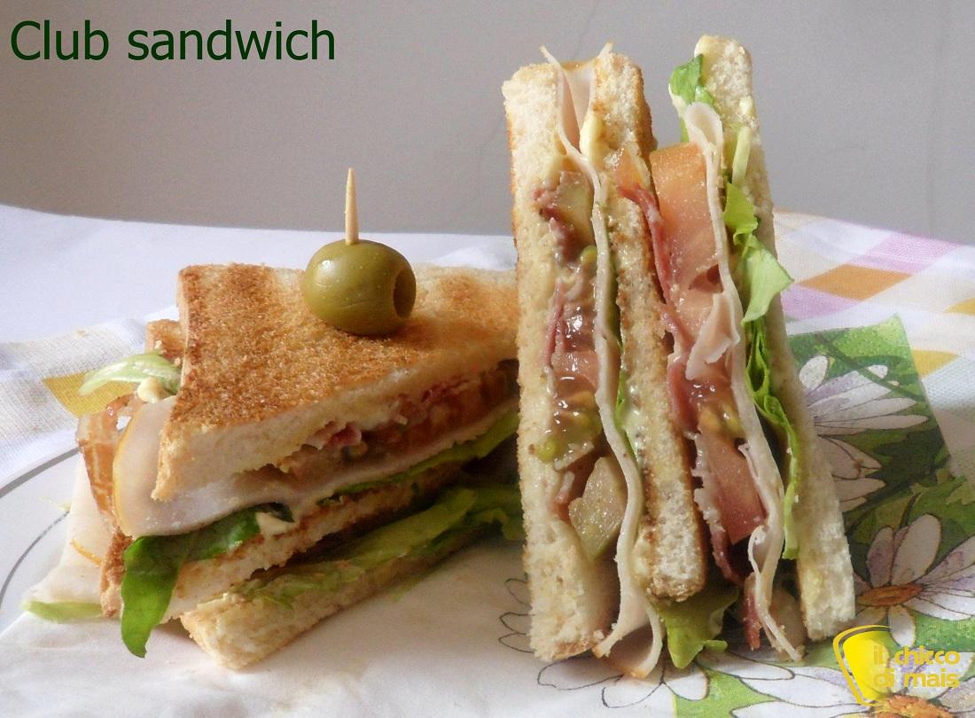 Club Sandwich Ricetta Americana