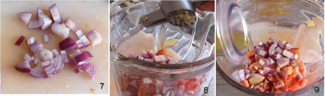 Gazpacho andaluso ricetta spagnola il chicco di mais 3