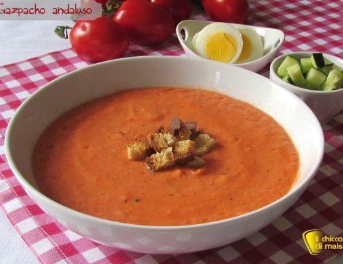 Gazpacho andaluso (ricetta spagnola)