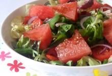 Insalata con anguria (ricetta estiva)