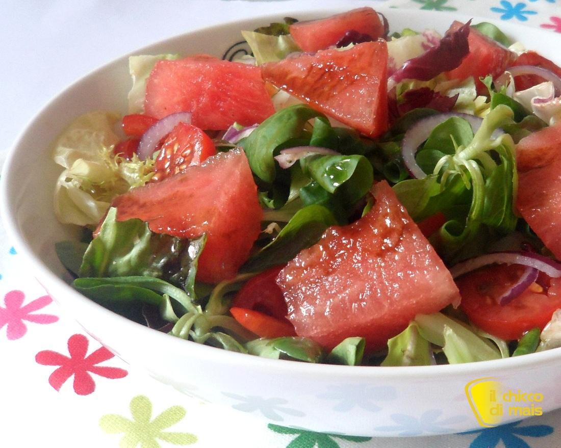 insalatone estive Insalata con anguria ricetta estiva il chicco di mais