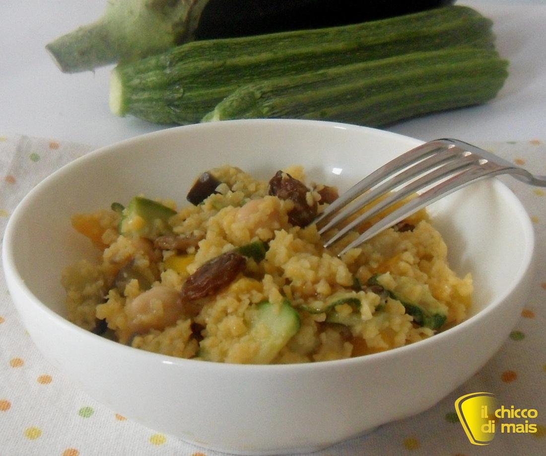 Ricette con melanzane facili e veloci il chicco di mais couscous di verdure