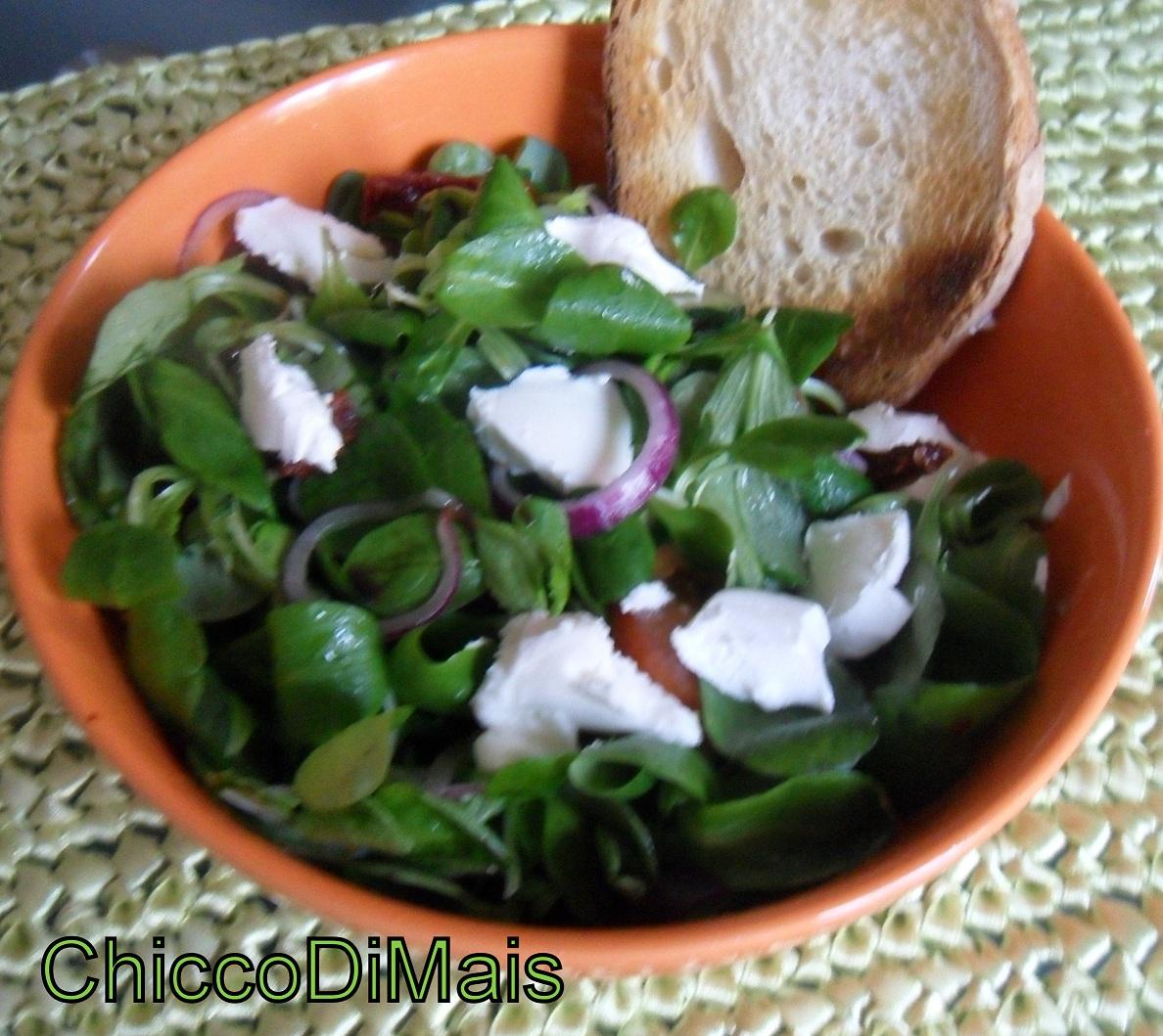 insalata con pomodori secchi e philadelphia ricetta il chicco di mais