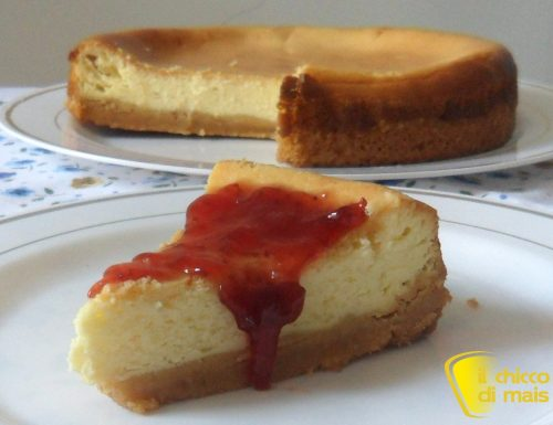 New York Cheesecake (ricetta al forno)