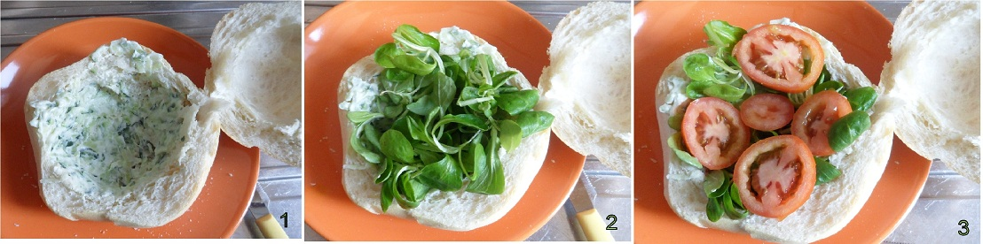 panino con bresaola e tzatziki ricetta light il chicco di mais 1