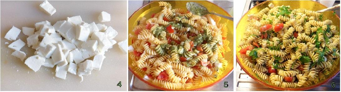 pasta fredda con pesto pomodorini e rucola ricetta estiva il chicco di mais 2
